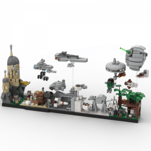 lego starwars custom kit